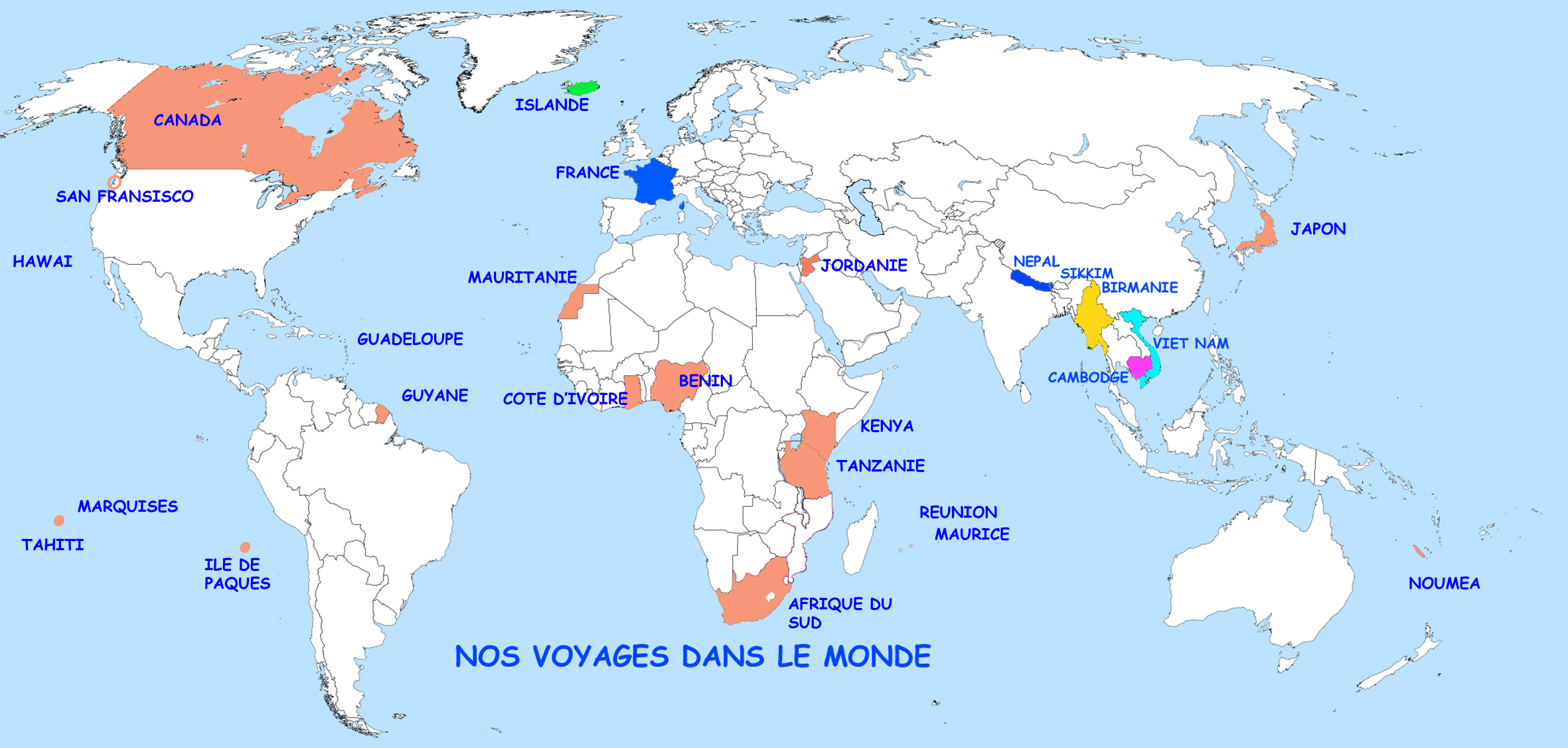 les-marquises-carte-du-monde - Photo